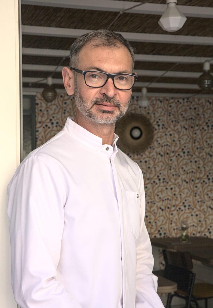 Stéphane Haissant chef cuisinier au Loca Café à Granville